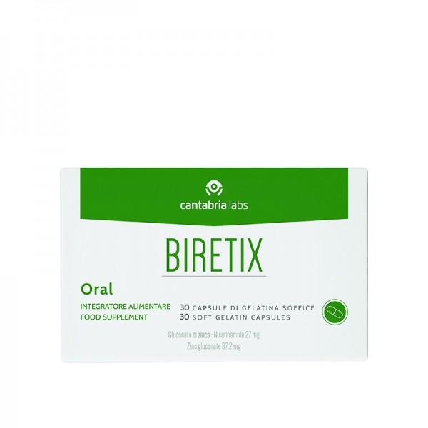 BIRETIX Oral (Cantabria Labs) – БАД «БИРЕТИКС» с глюконатом цинка и никотинамидом