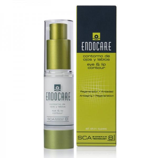 ENDOCARE - Крем-контур для глаз и губ регенерирующий омолаживающий - Eye&Lip, 15 мл