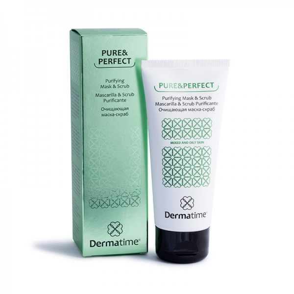 Pure&Perfect - Очищающая маска-скраб,100мл