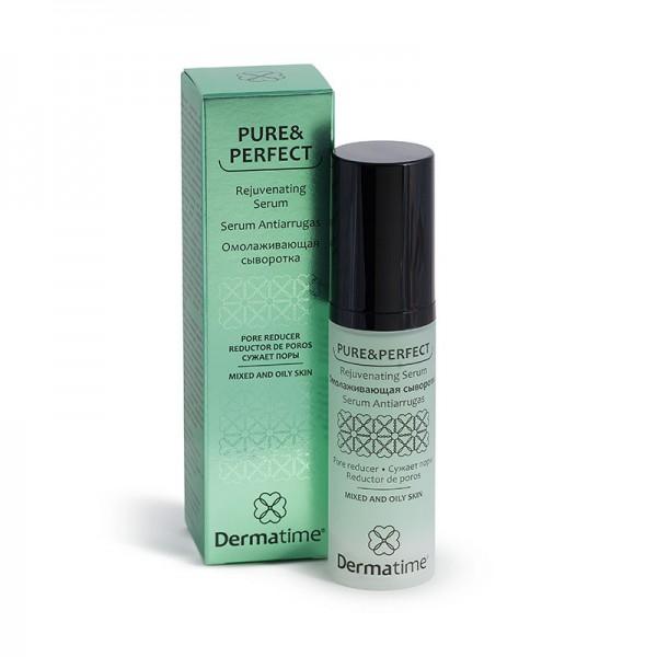 Pure&Perfect - Омолаживающая сыворотка/сужает поры, 30 мл