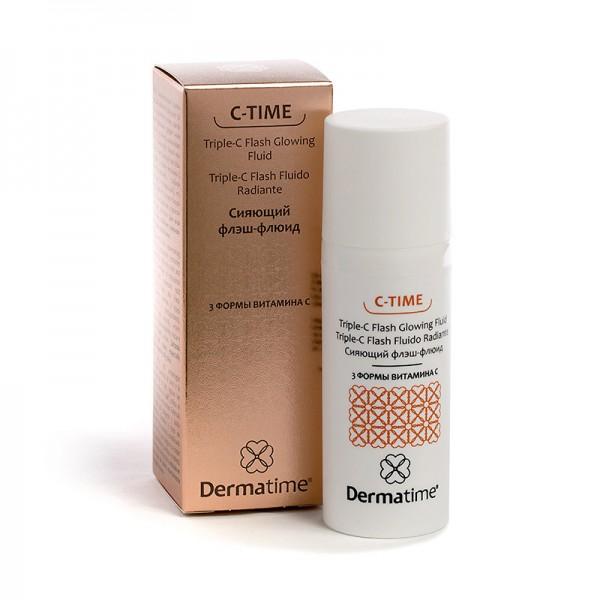 C-TIME - Сияющий флэш-флюид  3 формы витамина С, 50 мл