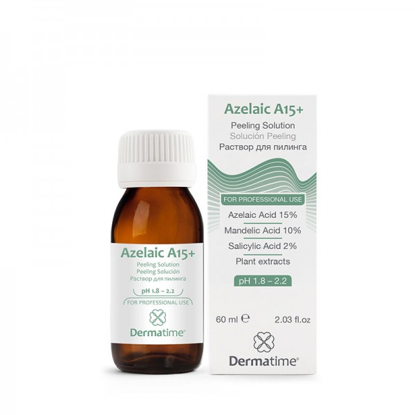 DERMATIME - Azelaic A15+ Peeling Solution - Раствор-пилинг,60 мл