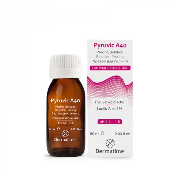 DERMATIME - Раствор-пилинг - Pyruvic A40 Peeling Solution , 60 мл