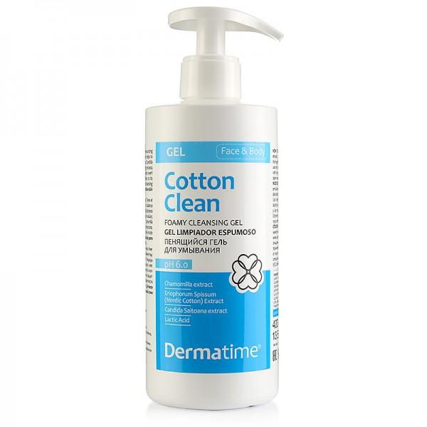 DERMATIME - COTTON CLEAN - Foamy Cleansing Gel – Пенящийся гель для умывания