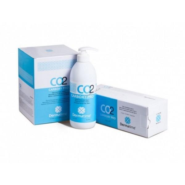 DERMATIME - Набор для карбокситерапии гель и маска в рулоне на 25 процедур