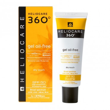 HELIOCARE - Солнцезащитный гель с SPF 50 360 Gel Oil-Free Dry Touch SPF 50, 50 мл