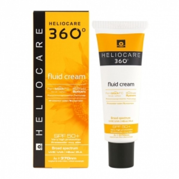 HELIOCARE - Солнцезащитный крем-флюид с SPF 50+ 360 Fluid Cream SPF 50+ Sunscreen, 50 мл