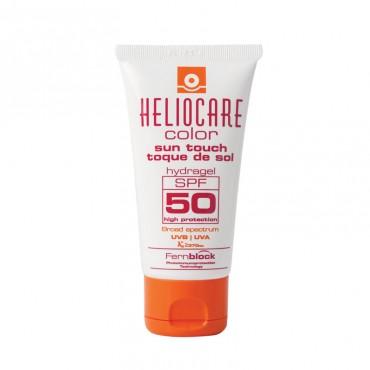 HELIOCARE - Тональный солнцезащитный гидрогель с SPF50(light) Color Sun Touch HydroGel,50мл