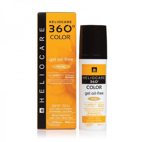 HELIOCARE - Тональный солнцезащитный гель (жемчужный) Oil-Free, 50 мл