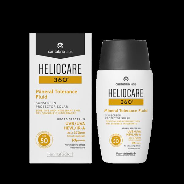 HELIOCARE - Солнцезащитный минеральный флюид с SPF 50+ 360 Mineral Fluid SPF 50+ Sunscreen, 50 мл