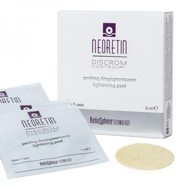 NEORETIN - Пилинг осветляющий:диски с пропиткой - Lightening Peel,6х1мл