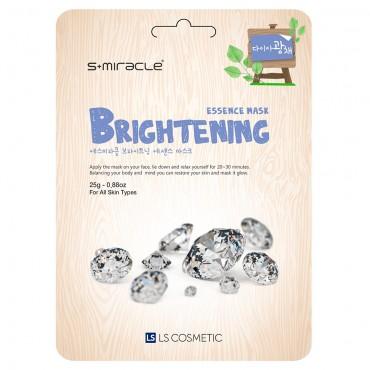 Маска для лица придающая сияние S+miracle Brightening Essence Mask