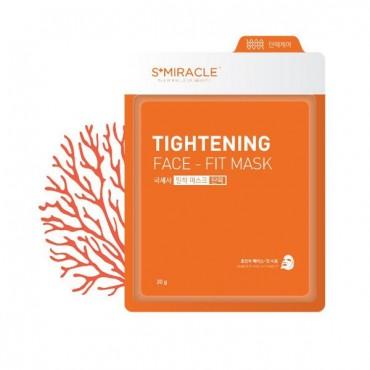 Маска для лица подтягивающая S+miracle Tightening Face-Fit Mask