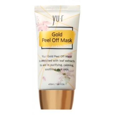 Маска-пленка золотая  Gold Peel-Off Mask